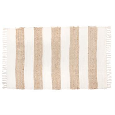 Tapis blanc et beige 90x150