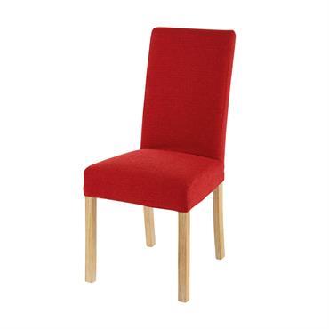 Housse de chaise rouge 41x70