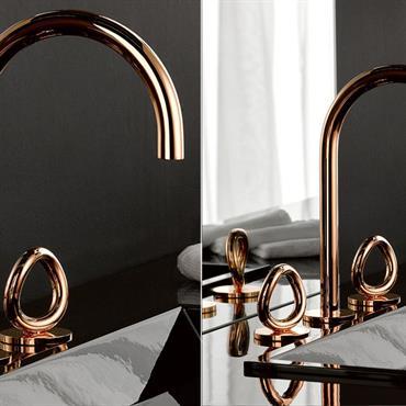 Vous souhaitez apporter une belle touche d'élégance et de design à votre espace lavabo ? Embellir avec classe votre salle de bains ? Le mélangeur de lavabo issu de la ...