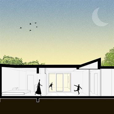 Réaménagement et extension d'une maison à Mérignac (33)  Domozoom