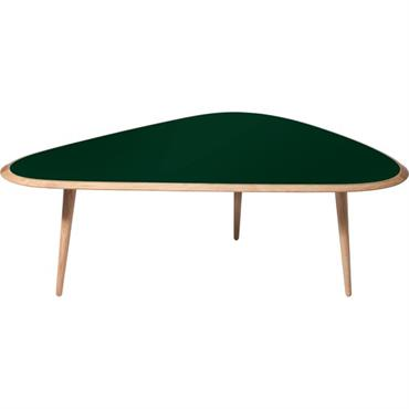 Grande table basse vert foncé Fifties - RED Edition