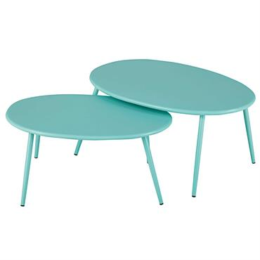 Les tables gigognes de jardin LUMPA , habituées de nos salons, s'invitent désormais en extérieur avec la couleur en plus ! Caractérisées par des tailles différentes, ces tables gigognes de ...