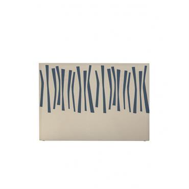 Tête de lit avec housse Bleu 180 cm