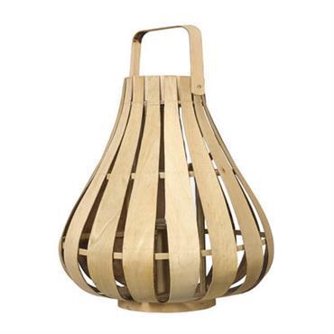 Lanterne Vertical Strip Small / Bambou - Ø 39 x H 42