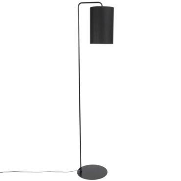 Lampadaire en métal noir H150