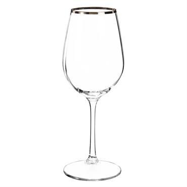 Verre à vin en verre WATERFALL