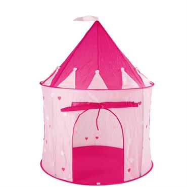 Votre petite fille rêve d'être une princesse ? Exaucez son vœu en lui offrant cette tente rose en forme de château. D'un diamètre d'un mètre, cette tente pour enfant prend ...