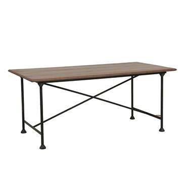 Table industrielle en pin massif 6 personnes - Atelier