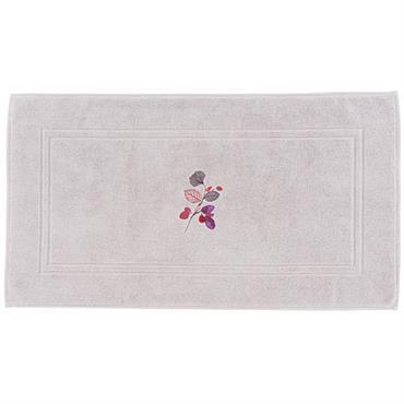 Tapis de bain AMARANTE PERLE 50 x 90 cm