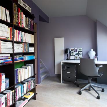 Réhabilitation d'un appartement, 27m², Paris. Conception, maitrise d'ouvrage.  Domozoom