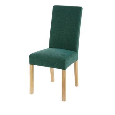 Housse de chaise verte 41x70