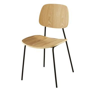 Chaise bicolore Marny