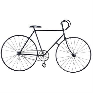 Déco murale vélo en métal noir 186x108