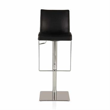 Prenez de la hauteur avec la chaise de bar noire et pied en métal chromé NIERO . Vous pourrez compter sur son pied en métal chromé pour assurer une bonne ...