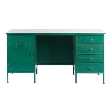 Envie de travailler dans un intérieur aux allures de loft ? Le bureau indus NINO s'imposera par son originalité et son caractère. Le coloris vert patiné et la finition vieillie ...