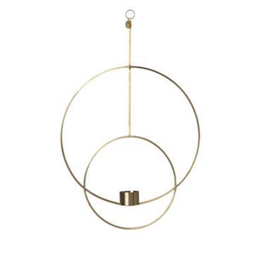 Bougeoir à suspendre Circular / L 30 x H 45 cm