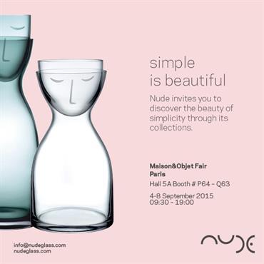 Nude vous invite à découvrir la beauté des lignes épurées à travers ses superbes collections de verres, carafes, lampes et ... Domozoom