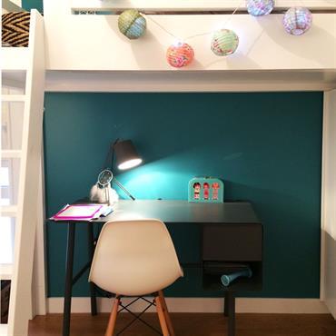 Et l'espace bureau...