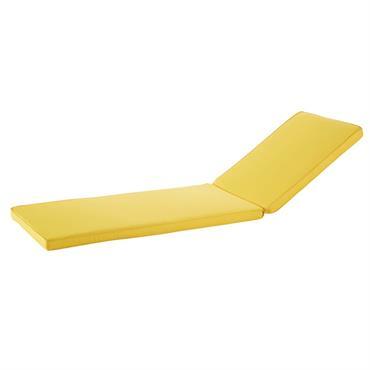 Les beaux jours arrivent ! Parce que vous avez le droit de vous octroyer une pause détente, installez-vous confortablement sur le matelas bain de soleil pour sol jaune SUNNY . ...
