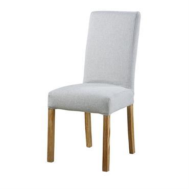 Personnalisez votre assise au gré de vos envies grâce à la housse de chaise gris perle MARGAUX. Dans une salle à manger à l'esprit minimaliste ou scandinave, cette teinte n'aura ...