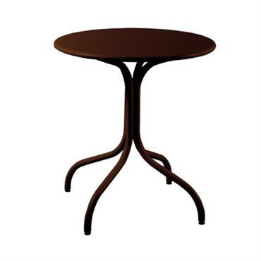 Table de jardin métal ronde Agora 80 cm