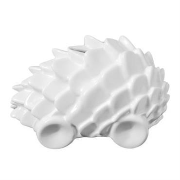 Tirelire Wild Car - Petite Friture blanc en céramique