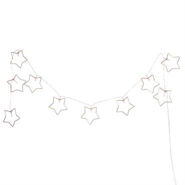 Guirlande lumineuse étoiles L160