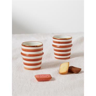Chabi Chic, le lifestyle Marocain traditionnel revisité. Tendance, chic et uniquement fait main. Inspirées des verres traditionnels marocains, ces 2 tasses à café sont fabriquées et peintes à la main. ...