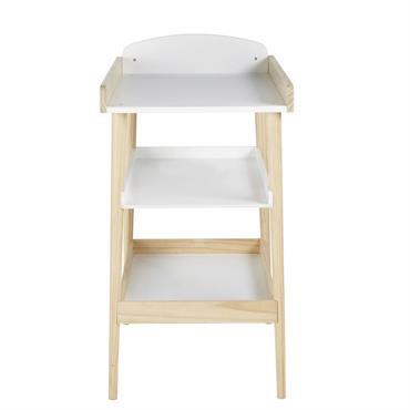Table à langer style scandinave 2 étagères Eliot