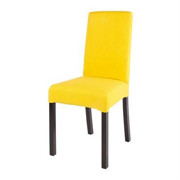 Personnalisez votre salle à manger avec la housse de chaise en lin jaune 41x70 MARGAUX ! Idéale pour changer d'atmosphère en un clin d'œil, cette house ingénieuse permettra d'habiller vos ...