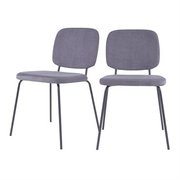 Détails techniques : Poids : 5.5kg Dimensions : - Longueur : 51 cm- Profondeur : 55,5 cm- Hauteur : 83 cm- Hauteur d'assise : 45 cm- Largeur d'assise : 45 ...