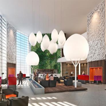 Conception d'un lobby d'hôtel  Domozoom