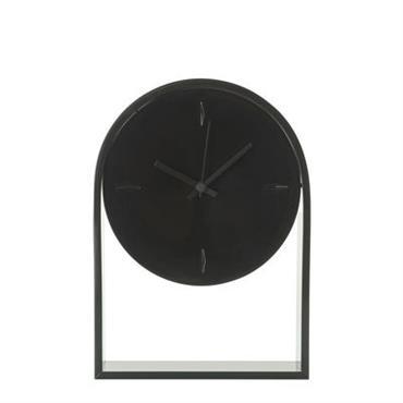 Horloge à poser L´Air du temps / H 30 cm - Kartell noir