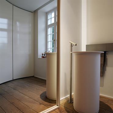 Si le miroir est un indispensable dans une salle de bains ou dans un dressing, il peut être un atout ... Domozoom