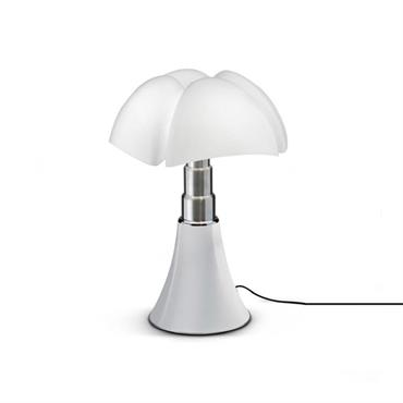 Lampe dimmer touch LED blanche H35cm