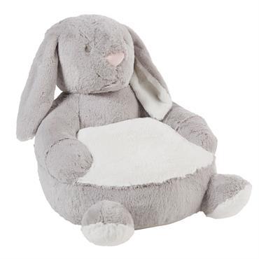 Fauteuil enfant lapin gris