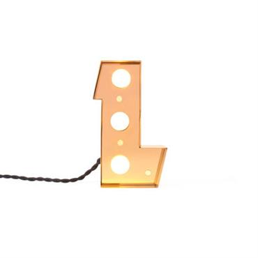 Lampe de table Caractère / Applique - Lettre L - H 20
