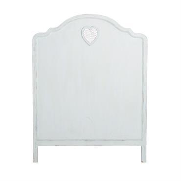 Tête de lit blanc L90 Valentine