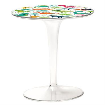 Table enfant Tip Top KIDS / Plateau décoré - Kartell multicolore