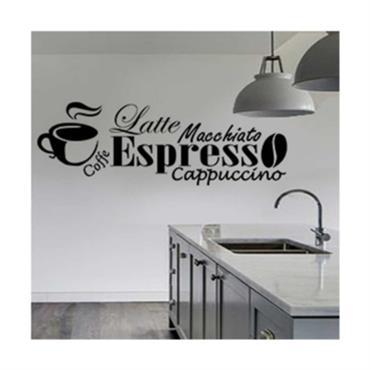Sticker sticker café expresso