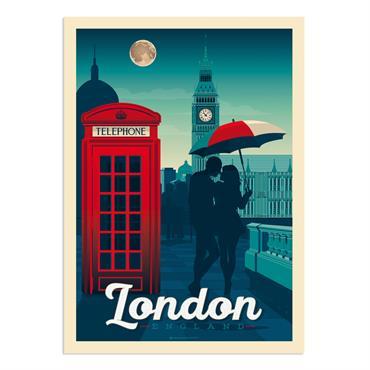 Affiche Londres  30x40 cm