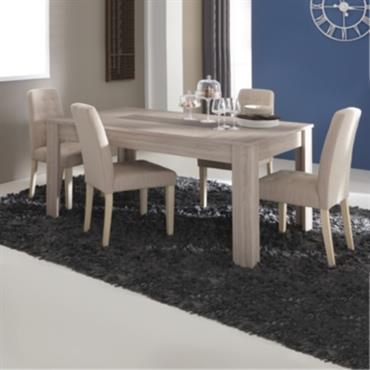 Ensemble table Dauphine et 4 chaises Din a