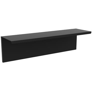 Etagère noire L40cm