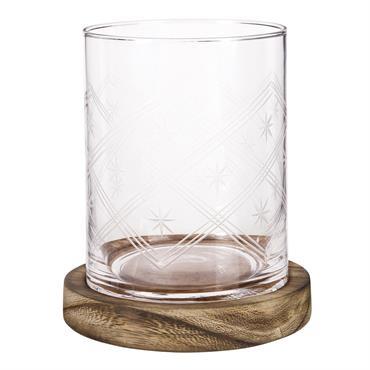 Photophore lumignon en verre