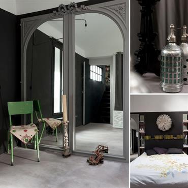 Le noir est une couleur passionnante à utiliser en décoration. Mettons immédiatement les choses au clair pour les puristes: le ... Domozoom