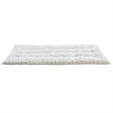 Matelas gaddiposh en coton blanc à motifs 90x190