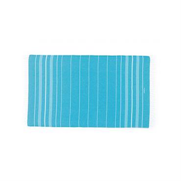 Fouta en coton peigné BIO Aqua 95 x 180 cm