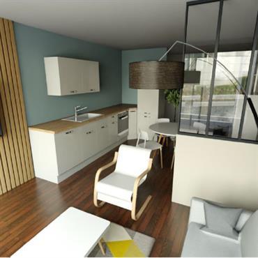 Vous êtes à la recherche d'un #appartement ou d'une #maison, mais vous n'arrivez pas à vous projeter...#décoration des années 70, ... Domozoom