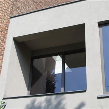 Agrandissement d'une maison et aménagement intérieur à Bruxelles   Domozoom