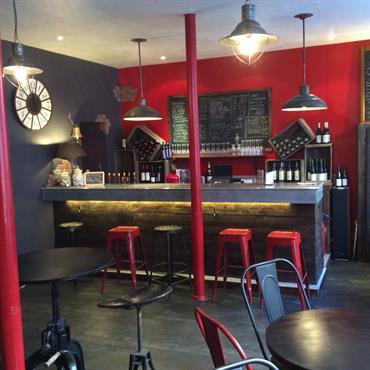 Un bar à vin